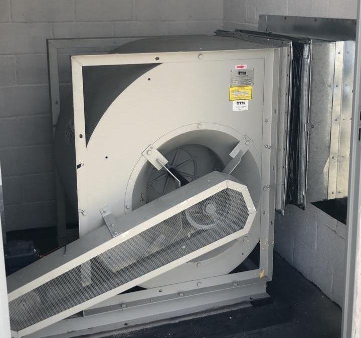 Central de tratamento de resíduos no Flamboyant Shopping Center